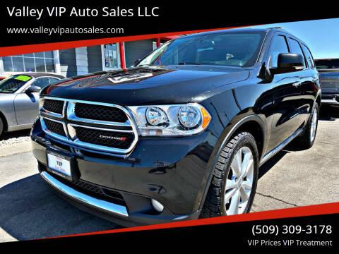 2013 Dodge Durango for sale at Valley VIP Auto Sales LLC in Spokane Valley WA