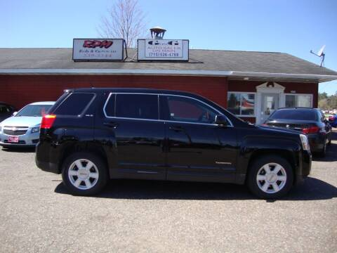 2010 GMC Terrain for sale at G and G AUTO SALES in Merrill WI