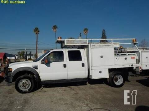2008 Ford F-550 Super Duty for sale at Vehicle Center in Rosemead CA
