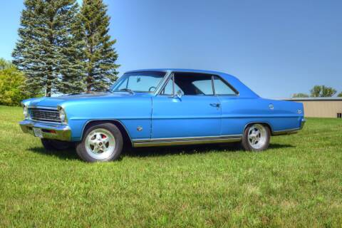 1966 Chevrolet Nova for sale at Hooked On Classics in Watertown MN