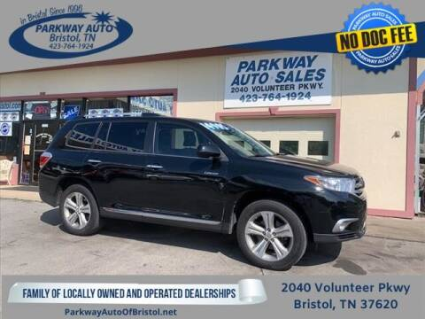 2012 Toyota Highlander for sale at PARKWAY AUTO SALES OF BRISTOL in Bristol TN