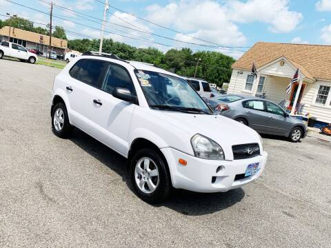 2008 Hyundai Tucson for sale at New Wave Auto of Vineland in Vineland NJ