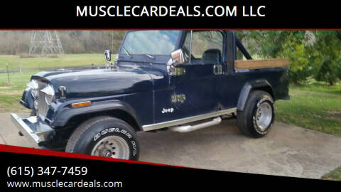 1982 Jeep Scrambler for sale at MUSCLECARDEALS.COM LLC in White Bluff TN