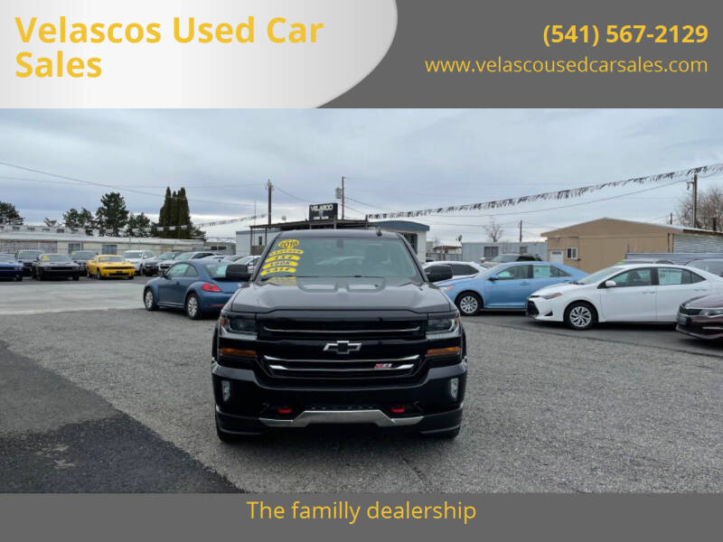 2018 Chevrolet Silverado 1500 for sale at Velascos Used Car Sales in Hermiston OR