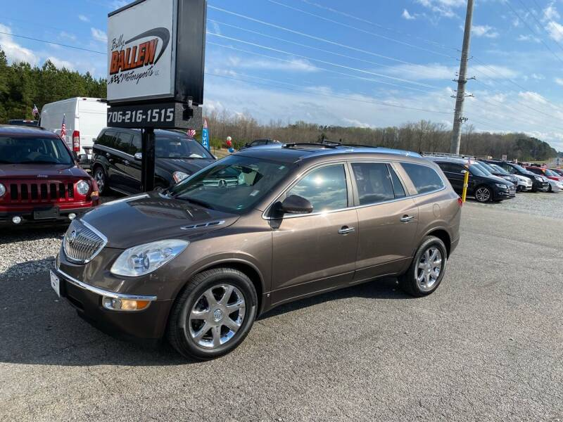 2010 Buick Enclave for sale at Billy Ballew Motorsports in Dawsonville GA