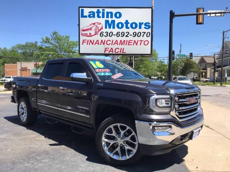 2016 GMC Sierra 1500 for sale at Latino Motors in Aurora IL