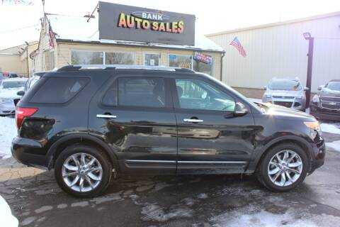2013 Ford Explorer for sale at BANK AUTO SALES in Wayne MI