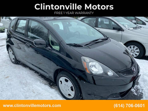 2013 Honda Fit for sale at Clintonville Motors in Columbus OH