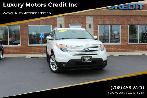 2013 Ford Explorer for sale at Luxury Motors Credit Inc in Bridgeview IL