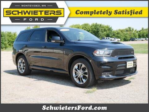 2019 Dodge Durango for sale at Schwieters Ford of Montevideo in Montevideo MN