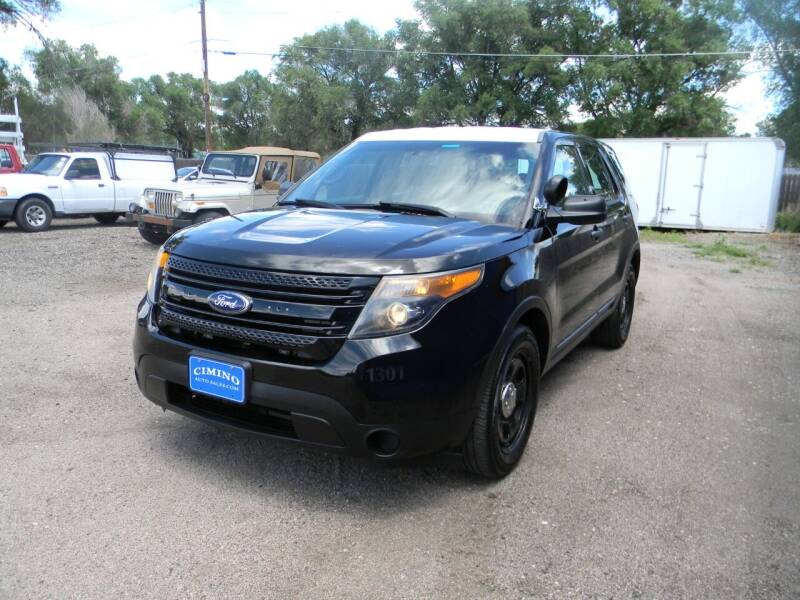 2013 Ford Explorer for sale at Cimino Auto Sales in Fountain CO
