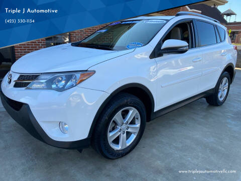 2013 Toyota RAV4 for sale at Triple J Automotive in Erwin TN