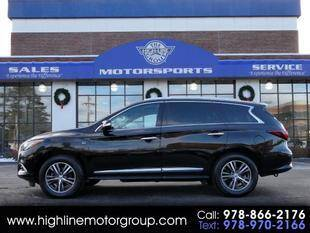2016 Infiniti QX60 for sale at Highline Group Motorsports in Lowell MA