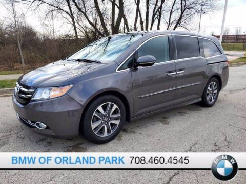 2015 Honda Odyssey for sale at BMW OF ORLAND PARK in Orland Park IL