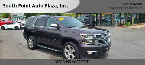 2016 Chevrolet Tahoe for sale at South Point Auto Plaza, Inc. in Albany NY