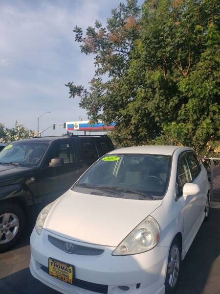 2007 Honda Fit for sale at Thomas Auto Sales in Manteca CA