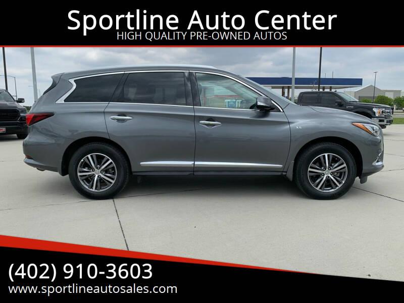 2020 Infiniti QX60 for sale at Sportline Auto Center in Columbus NE