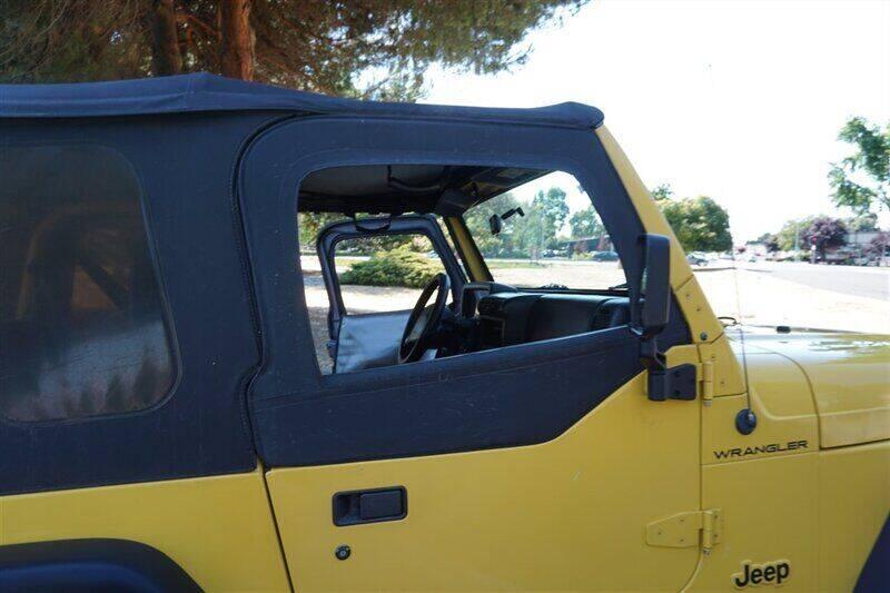 2000 Jeep Wrangler 2dr SE 4WD SUV - Fremont CA