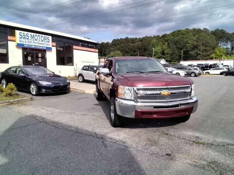 2013 Chevrolet Silverado 1500 for sale at S & S Motors in Marietta GA