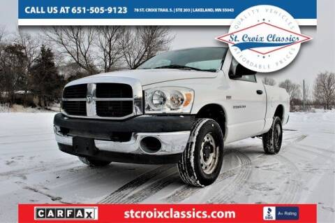 2007 Dodge Ram Pickup 1500 for sale at St. Croix Classics in Lakeland MN