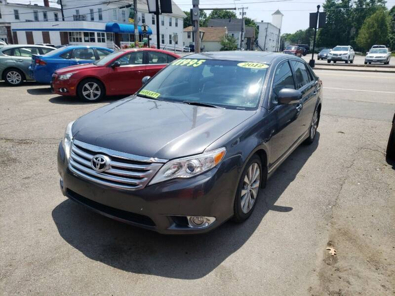 2012 Toyota Avalon for sale at TC Auto Repair and Sales Inc in Abington MA