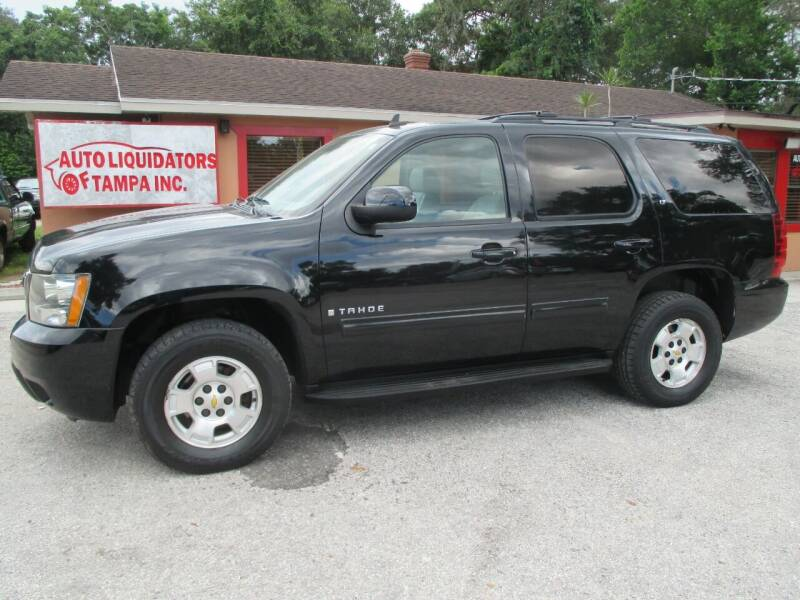 2009 Chevrolet Tahoe for sale at Auto Liquidators of Tampa in Tampa FL