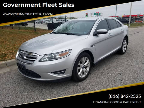 2010 Ford Taurus for sale at Government Fleet Sales in Kansas City MO