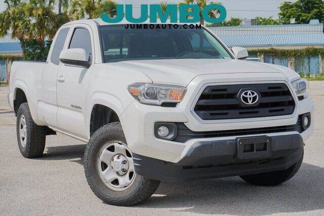 2016 Toyota Tacoma for sale at Jumbo Auto & Truck Plaza in Hollywood FL