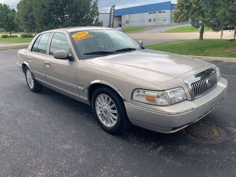 2010 Mercury Grand Marquis for sale at Ryan Motors in Frankfort IL