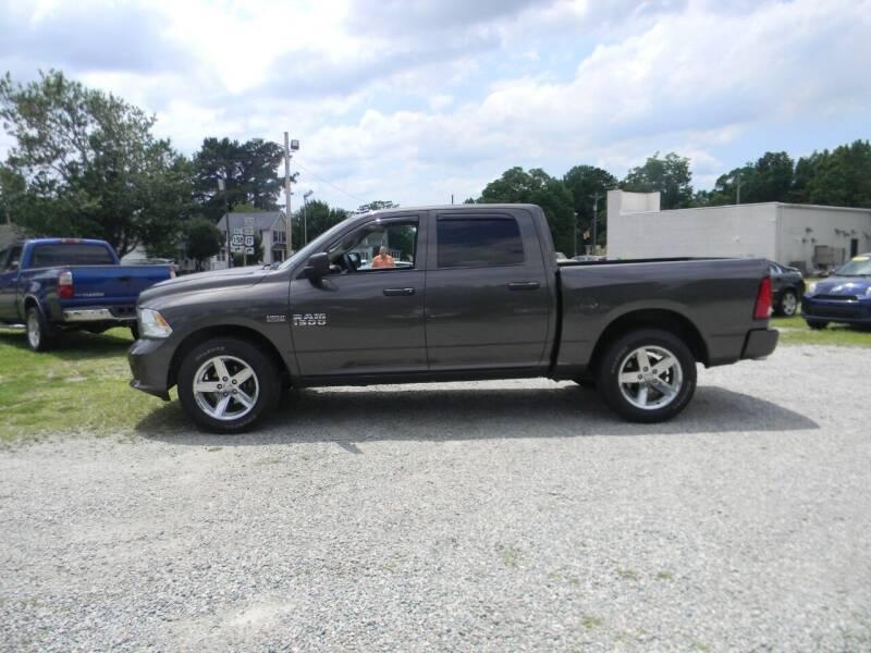 2017 RAM Ram Pickup 1500 for sale at SeaCrest Sales, LLC in Elizabeth City NC