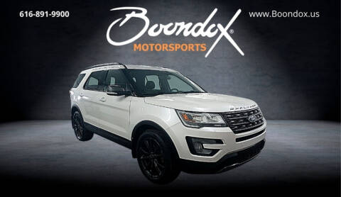 2017 Ford Explorer for sale at Boondox Motorsports in Caledonia MI