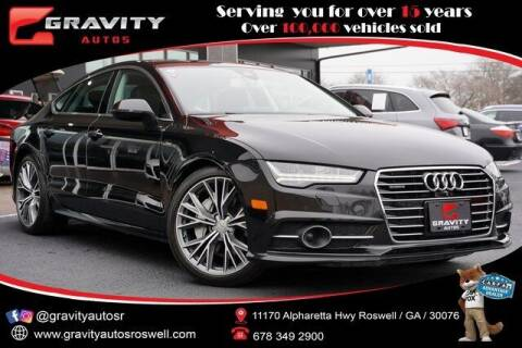 2018 Audi A7 for sale at Gravity Autos Roswell in Roswell GA