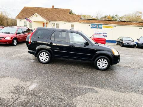 2005 Honda CR-V for sale at New Wave Auto of Vineland in Vineland NJ