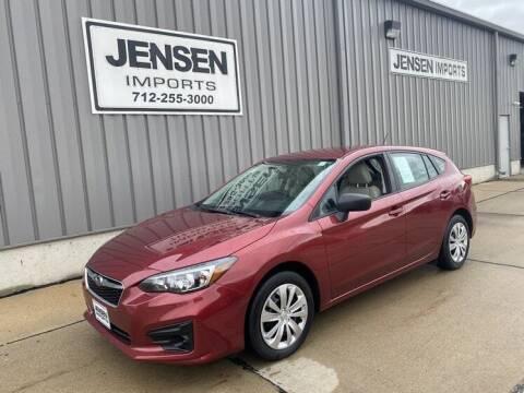 2019 Subaru Impreza for sale at Jensen's Dealerships in Sioux City IA