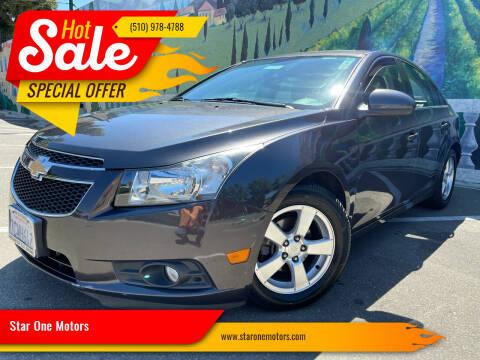 2014 Chevrolet Cruze for sale at Star One Motors in Hayward CA