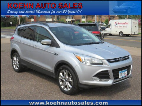 2013 Ford Escape for sale at Koehn Auto Sales in Lindstrom MN
