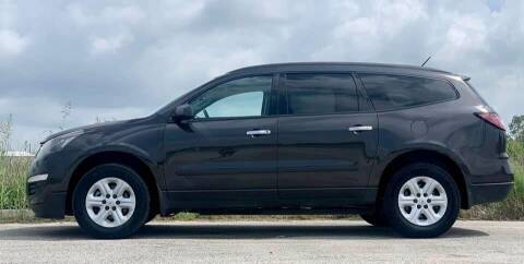 2015 Chevrolet Traverse for sale at Palmer Auto Sales in Rosenberg TX