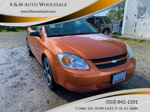 2006 Chevrolet Cobalt for sale at A & M Auto Wholesale in Tillamook OR