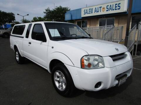 2003 Nissan Frontier for sale at Salem Auto Sales in Sacramento CA