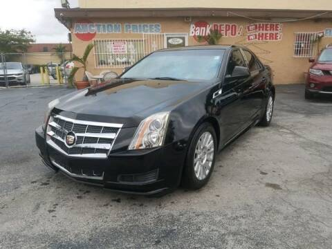 2011 Cadillac CTS for sale at VALDO AUTO SALES in Miami FL
