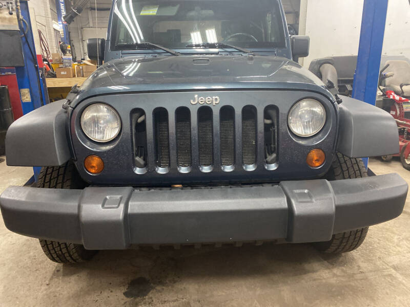 2007 Jeep Wrangler for sale at Story Brothers Auto in New Britain CT