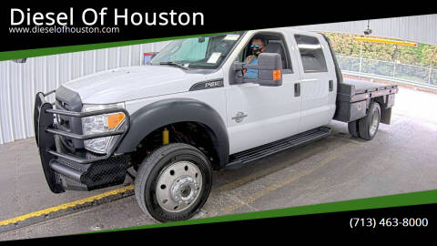 2015 Ford F-450 Super Duty for sale at Diesel Of Houston in Houston TX