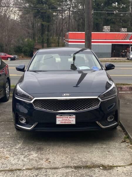 2017 Kia Cadenza for sale at Assistive Automotive Center in Durham NC