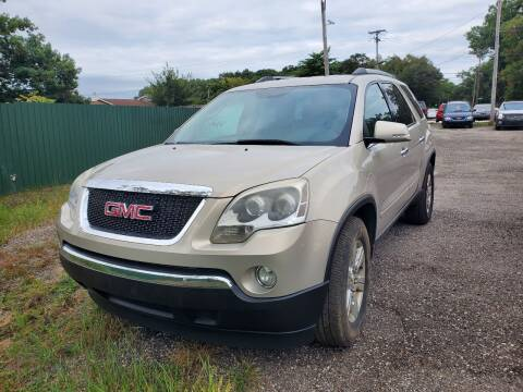 2011 GMC Acadia for sale at ASAP AUTO SALES in Muskegon MI