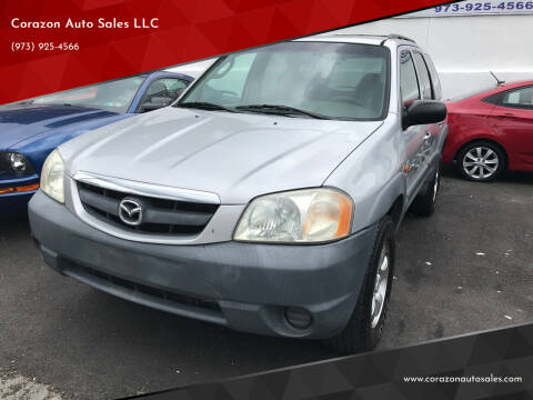 2001 Mazda Tribute for sale at Corazon Auto Sales LLC in Paterson NJ