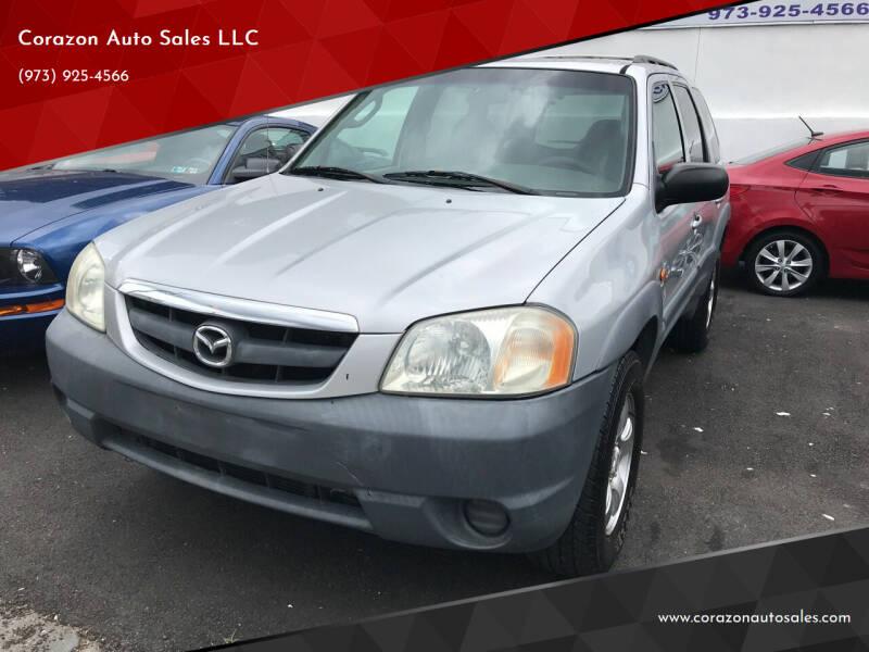 2001 Mazda Tribute for sale at Corazon Auto Sales LLC in Paterson NJ