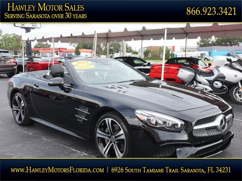 2019 Mercedes-Benz SL-Class for sale at Hawley Motor Sales in Sarasota FL