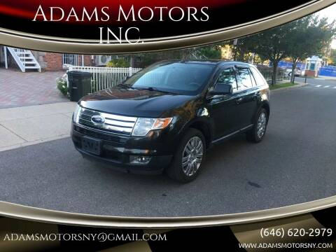 2010 Ford Edge for sale at Adams Motors INC. in Inwood NY