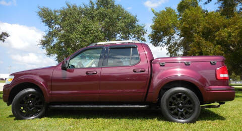 2007 Ford Explorer Sport Trac for sale at Performance Autos of Southwest Florida in Fort Myers FL