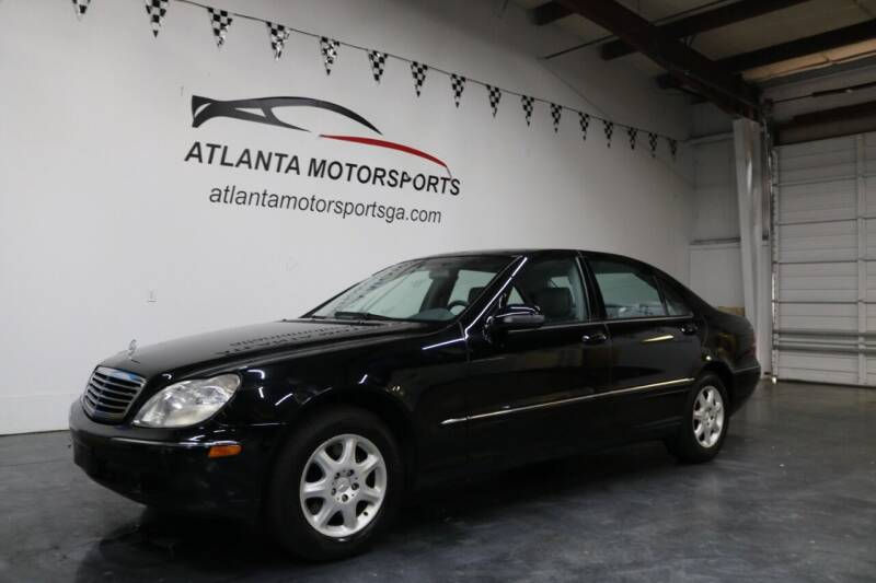 2000 Mercedes-Benz S-Class for sale at Atlanta Motorsports in Roswell GA